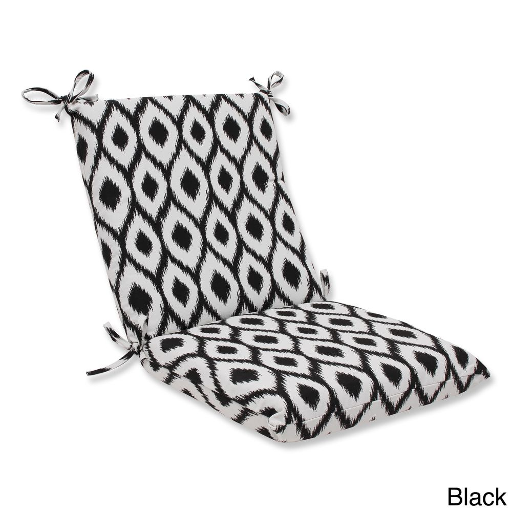 Pillow perfect squared corners chair cushion with belladura shivali