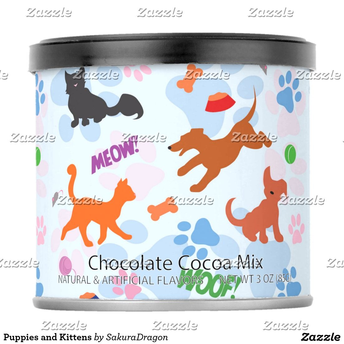 Puppies and Kittens Hot Chocolate Drink Mix #dogs #cats #pets #animals #vet