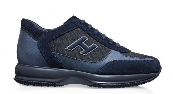 Hogan Interactive uomo autunno inverno 2014 2015: le Sneakers si tingono di Scuro Hogan Interactive uomo autunno inverno 2014 2015 blu