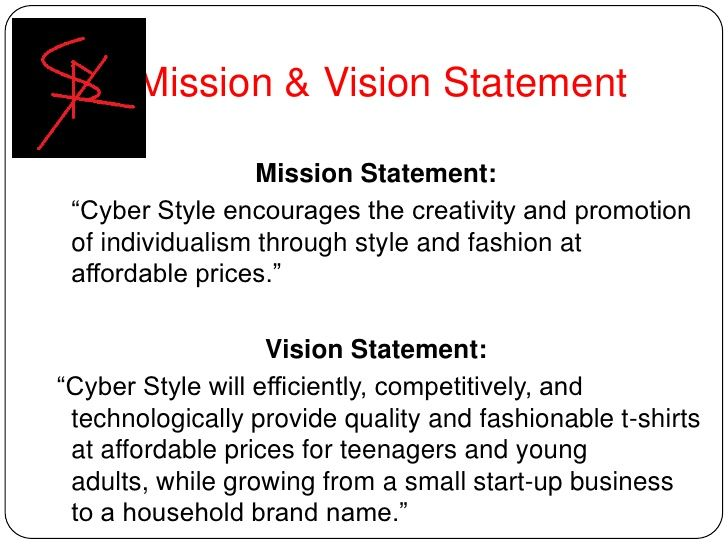 Small business vision statement
