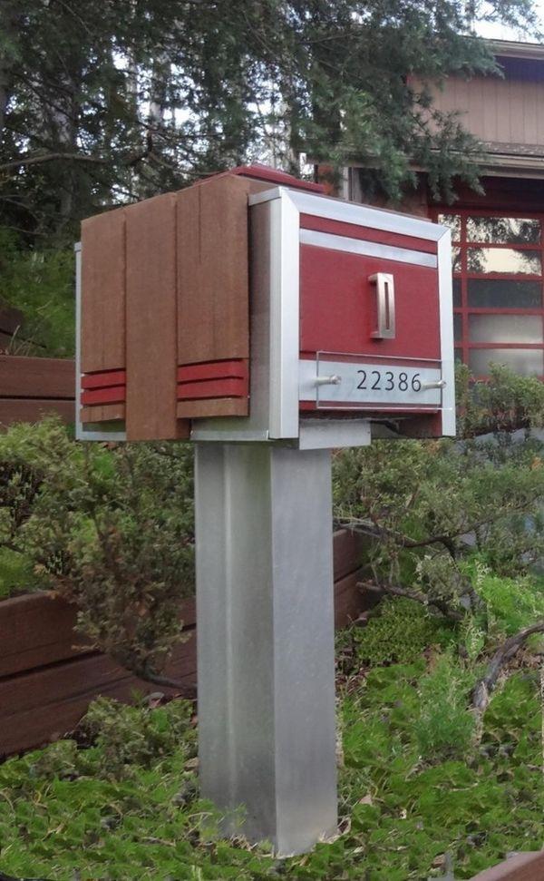 modern mailbox ideas. Modern Mailboxes Design Ideas House Exterior Garden Decor Mailbox