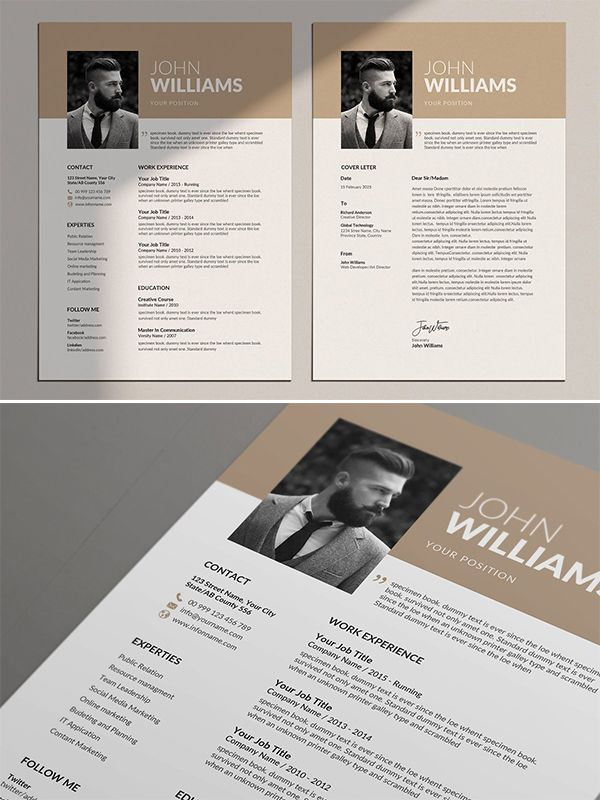 Resume Templates with Cover Letters - Resume design template, Cv template, Graphic design templates, Template design, Resume templates, Resume cv -  Resume Templates for lasting impression  In current employment market, only eyecatching clean and creative Resumes can stay
