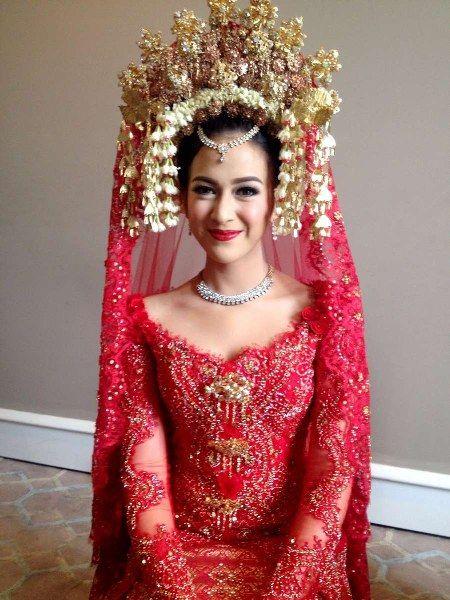 20 Model Kebaya Pengantin Modern Artis Indonesia Kebaya