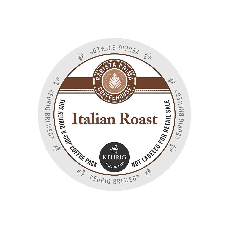 Barista prima coffeehouse italian roast kcups 96ct