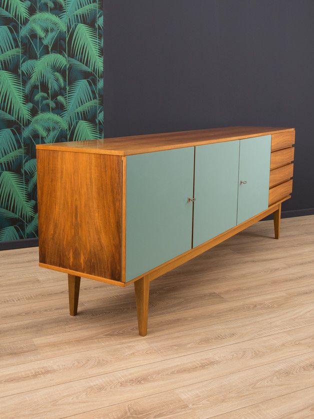 vintage kommoden 60er sideboard kommode 50er wk vintage ein designerst ck von mid. Black Bedroom Furniture Sets. Home Design Ideas