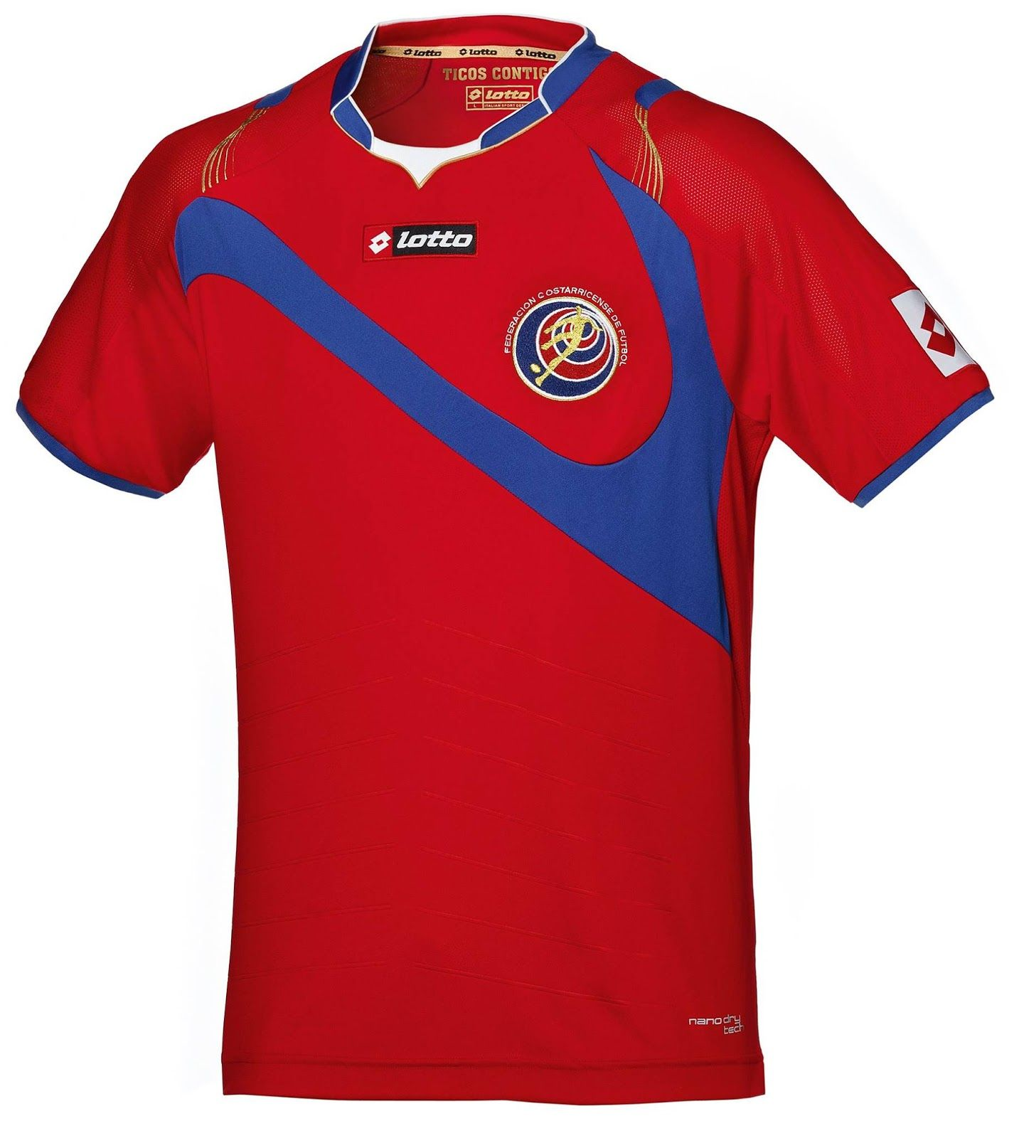 Costa Rica 2014 World Cup Kits Released Footy Headlines