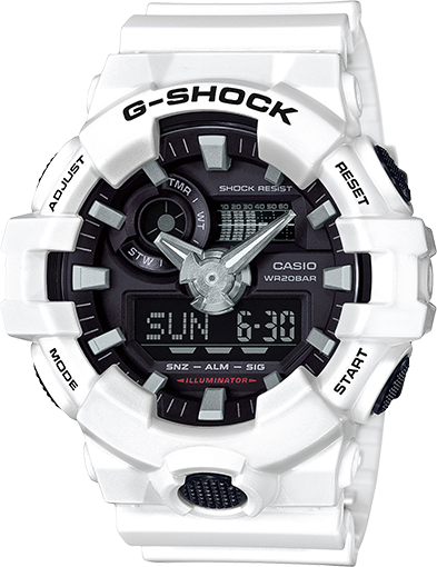 5b5ccbf8c94 GA-700 Model G-Shock Watch from James Free Jewelers. These models use original  resin molding technology. Multi-dimensional dial in a choice of two new ...