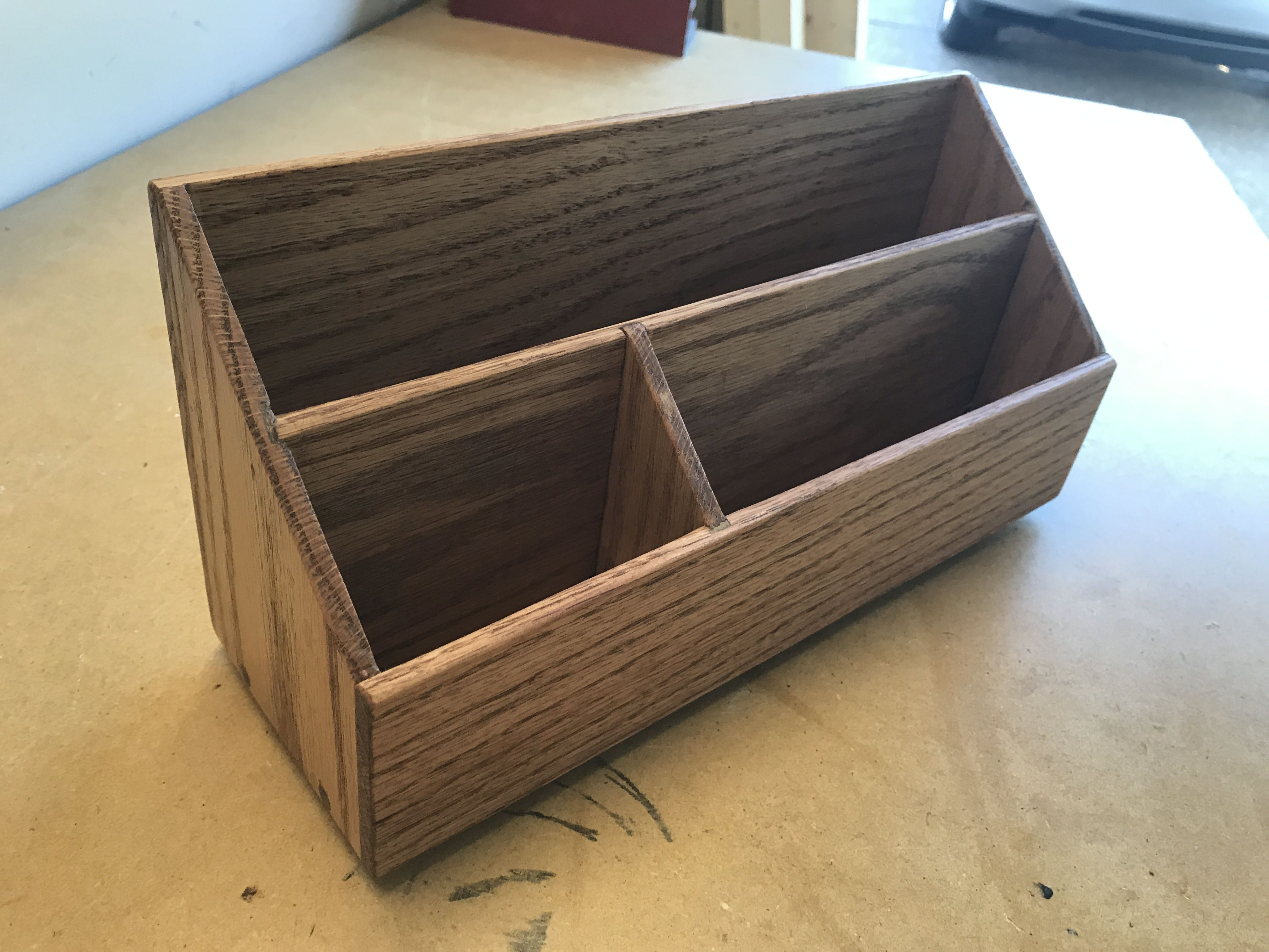 Countertop Mail Organizer Handmade Crafts Howto Diy Mail