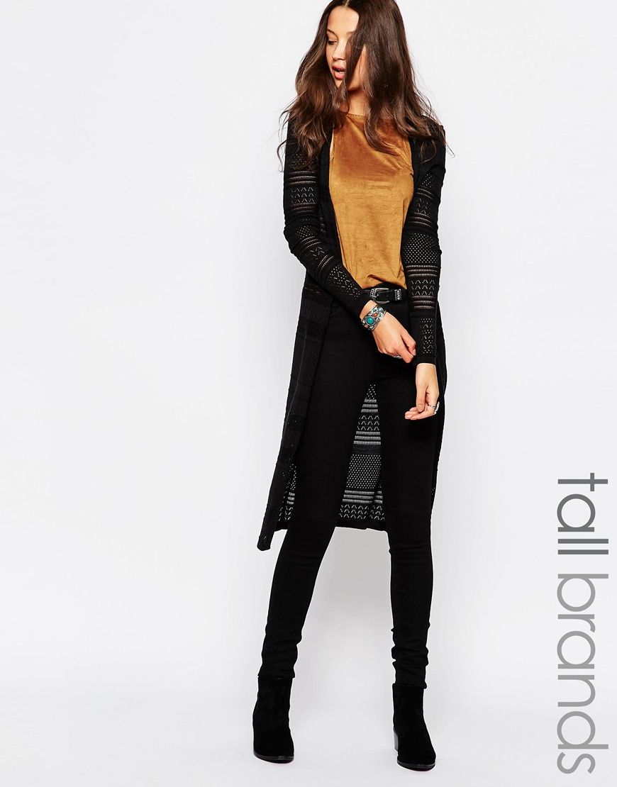 Image 1 of New Look Tall Pontielle Midi Cardigan | Clothes cute ...