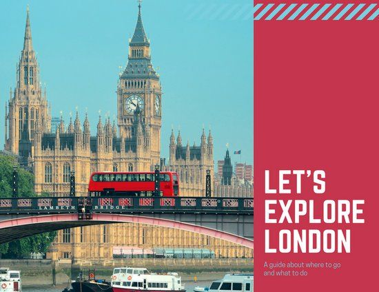 Red London Photos Travel Brochure Design Layouts Pinterest - travel brochure