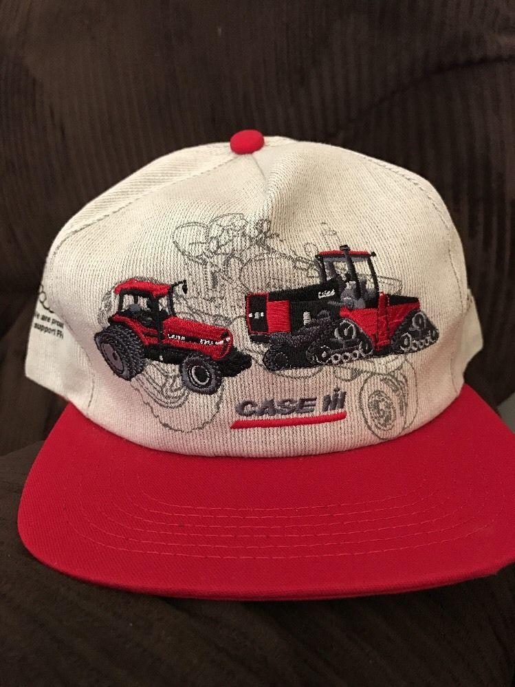 9d1bbe1bba1c7 Rare Vintage Case IH International Harvester Tractor Trucker Cap Hat FFA 50  Yrs