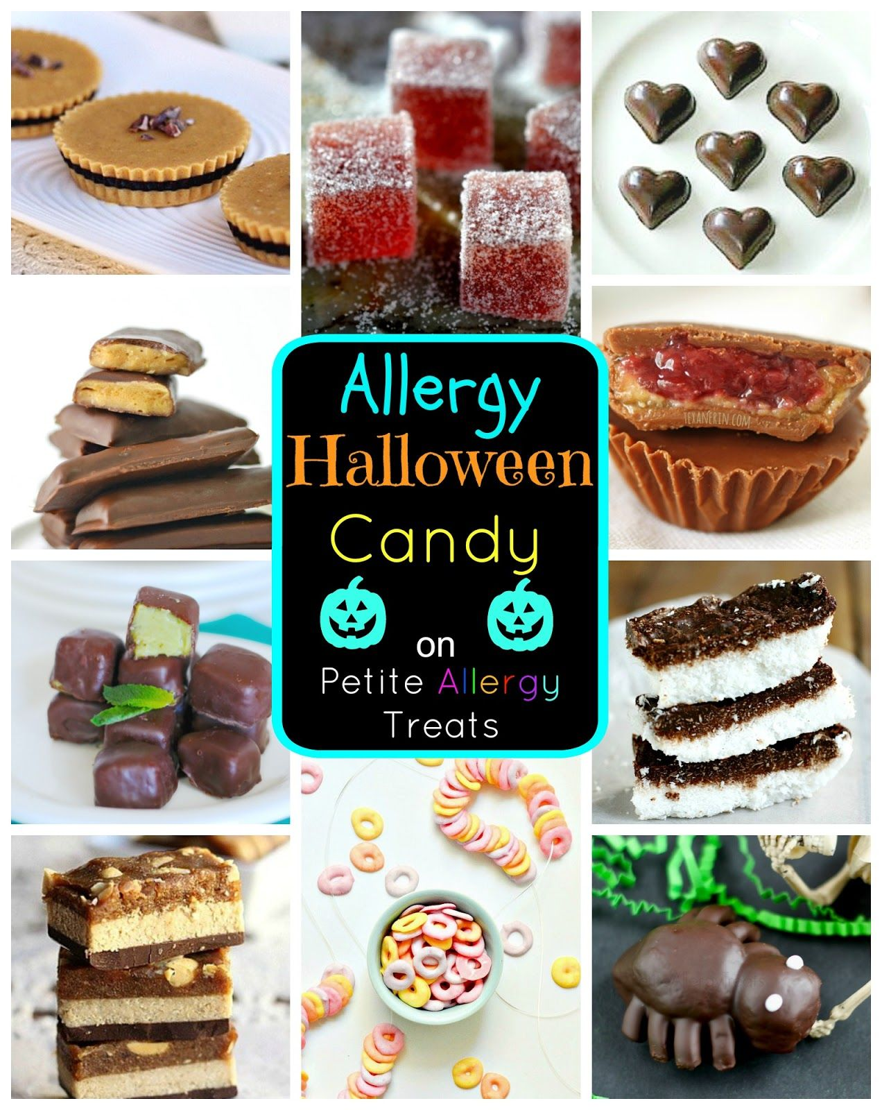 Allergy friendly halloween candy petiteallergytreats fantastic find loads of allergy friendly halloween candy making ideas candy that is free of the top 8 food allergens has a teal pumpkin in the corner forumfinder Gallery