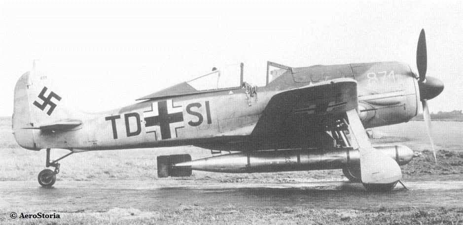 Stukablr Focke Wulf Fw190 Torpedo Bomber Aviaciya Samolet Shturmoviki
