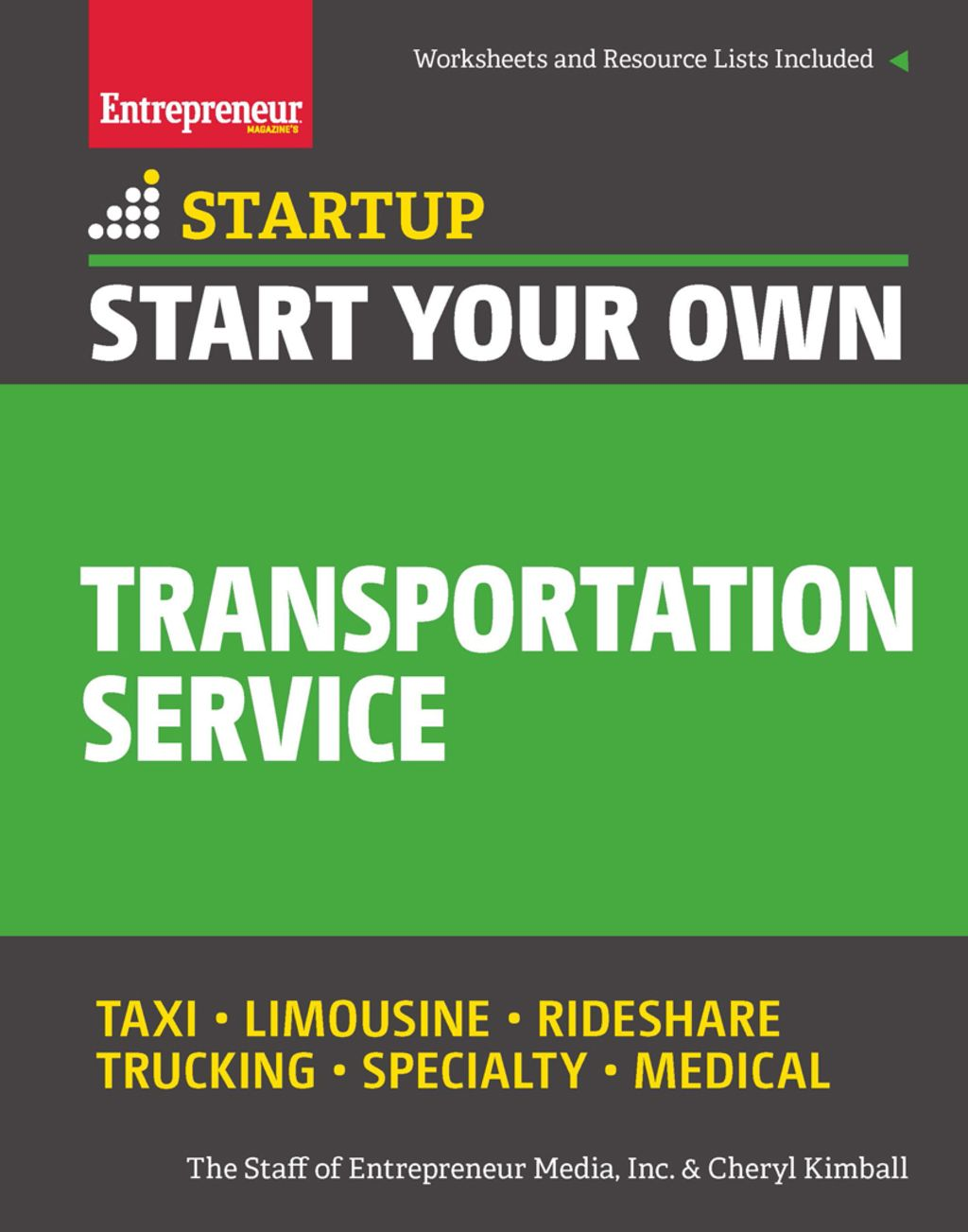 Start Your Own Transportation Service (eBook