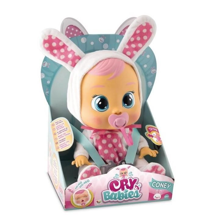 Cry Babies - Coney in 2019 | ToyShnip | Baby dolls, Cry baby, Doll toys