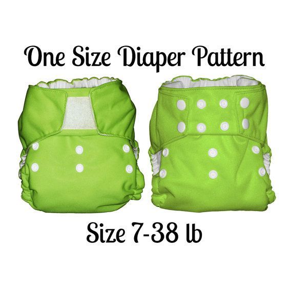 NEED THIS! so i can make super cute organic diapers :) One Size ...