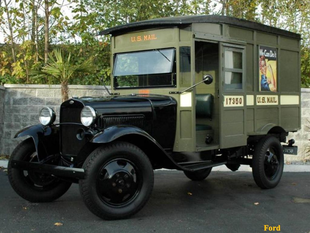 Mail Truck 1930 With Images Antique Trucks American Classic