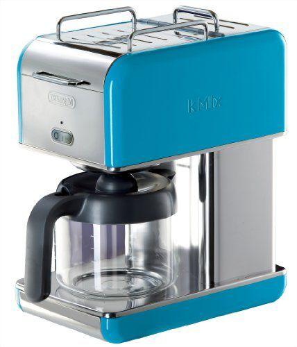 DeLonghi Kmix 10-Cup Drip Coffee Maker- turquoise elementals-air Pinterest Drip coffee ...