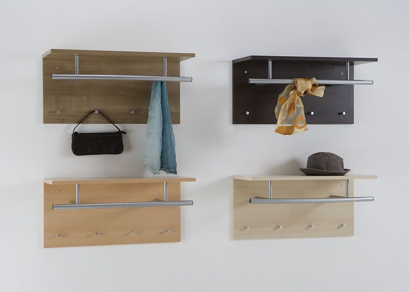 Coat Hanging Solutions wall mounted coat stand hat rack shelf rail&hooks spot | coat