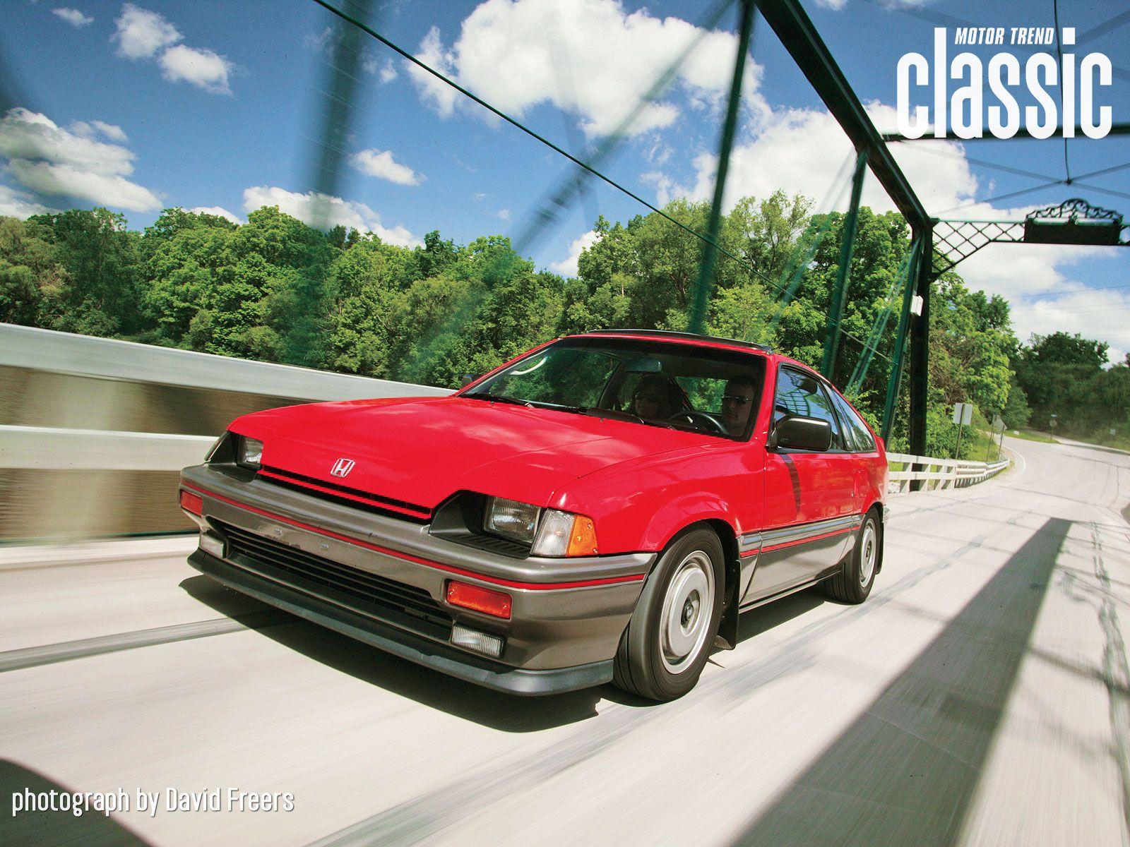 1985 Honda Crx Si Wallpaper Gallery Motor Trend Classic Honda Crx Honda Modified Cars
