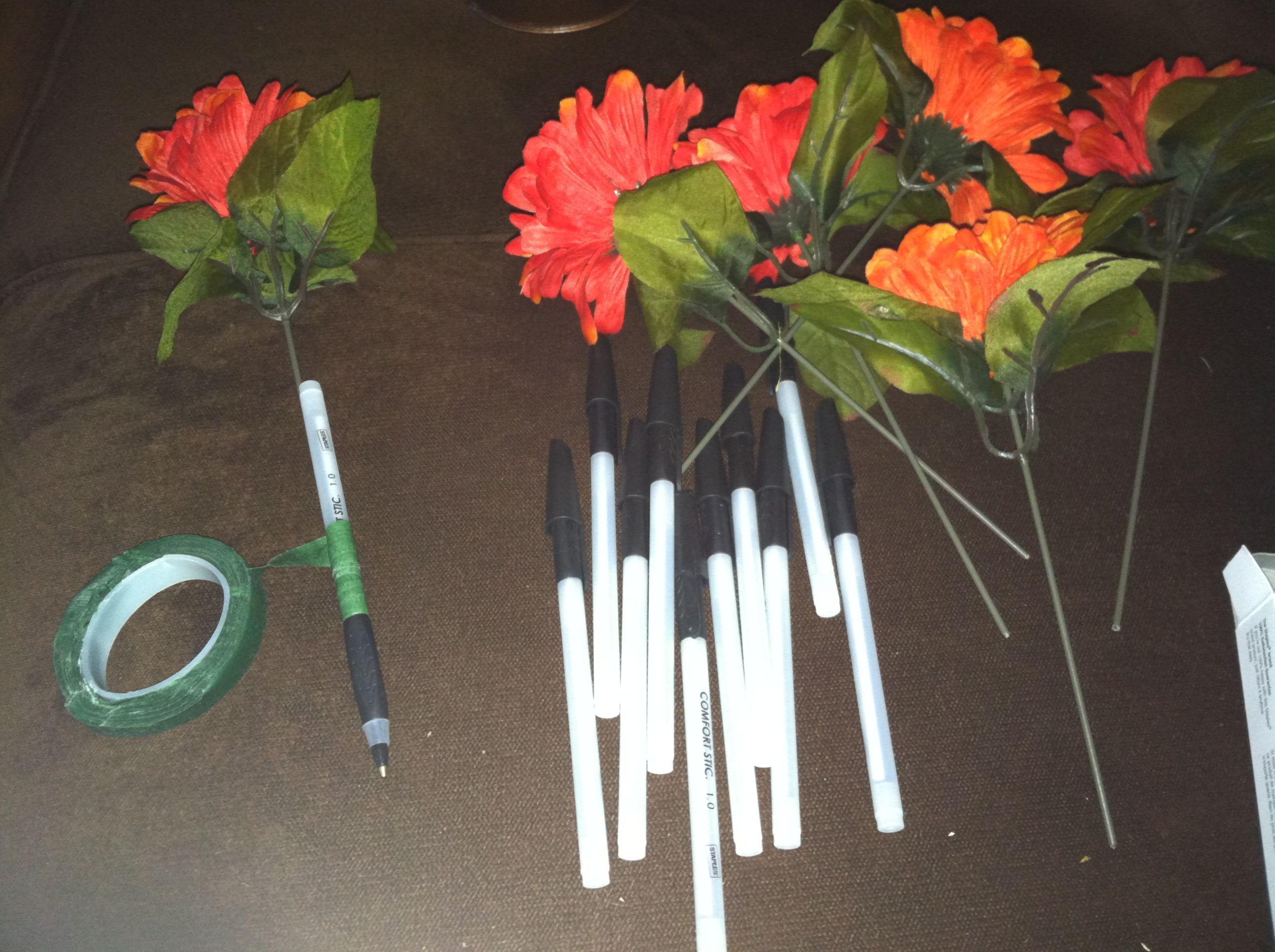 Diy Decorative Office Pens Office Idea Office Decor Decor Diy