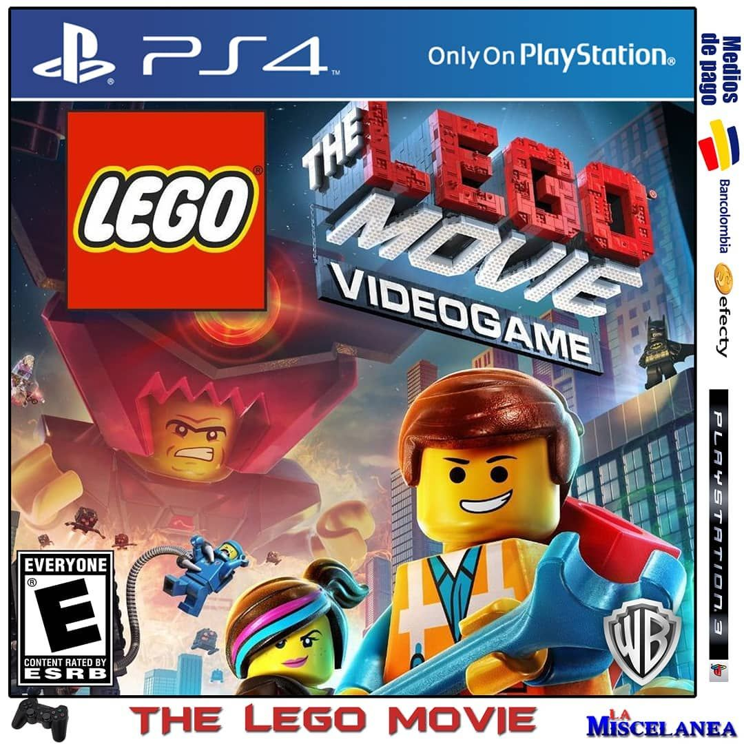 38000 The Lego Movie Videogame Ps4 Digital Cupo Principal