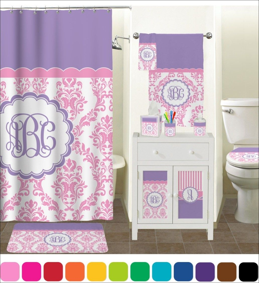 Pink And Purple Bathroom Accessories Gray Bathroom Accessories