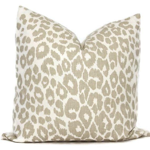 Linen Decorative Pillow Cover