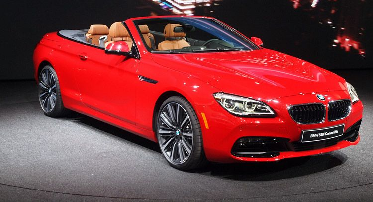 2016 Bmw 6 Series And M6 Show Their Faintly Tweaked Bodies In