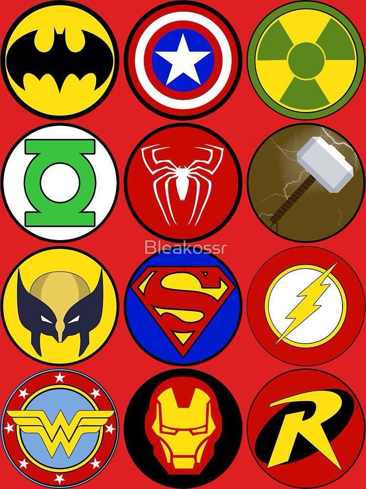 Superhero Symbol by Bleakossr | Superhero symbols ...