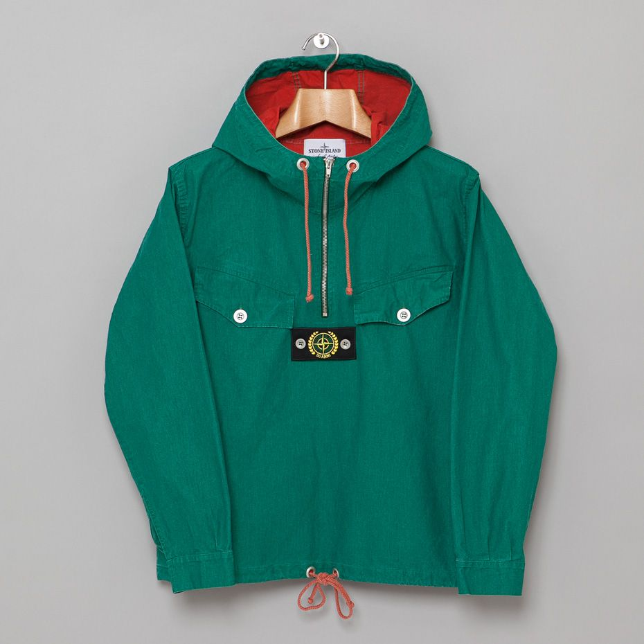 Stone Island Anniversary Tella Stella Jacket Green Jackets Menswear Mens Outfits