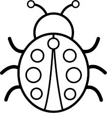 Resultado de imagen para dibujo para colorear mariquita | macetas