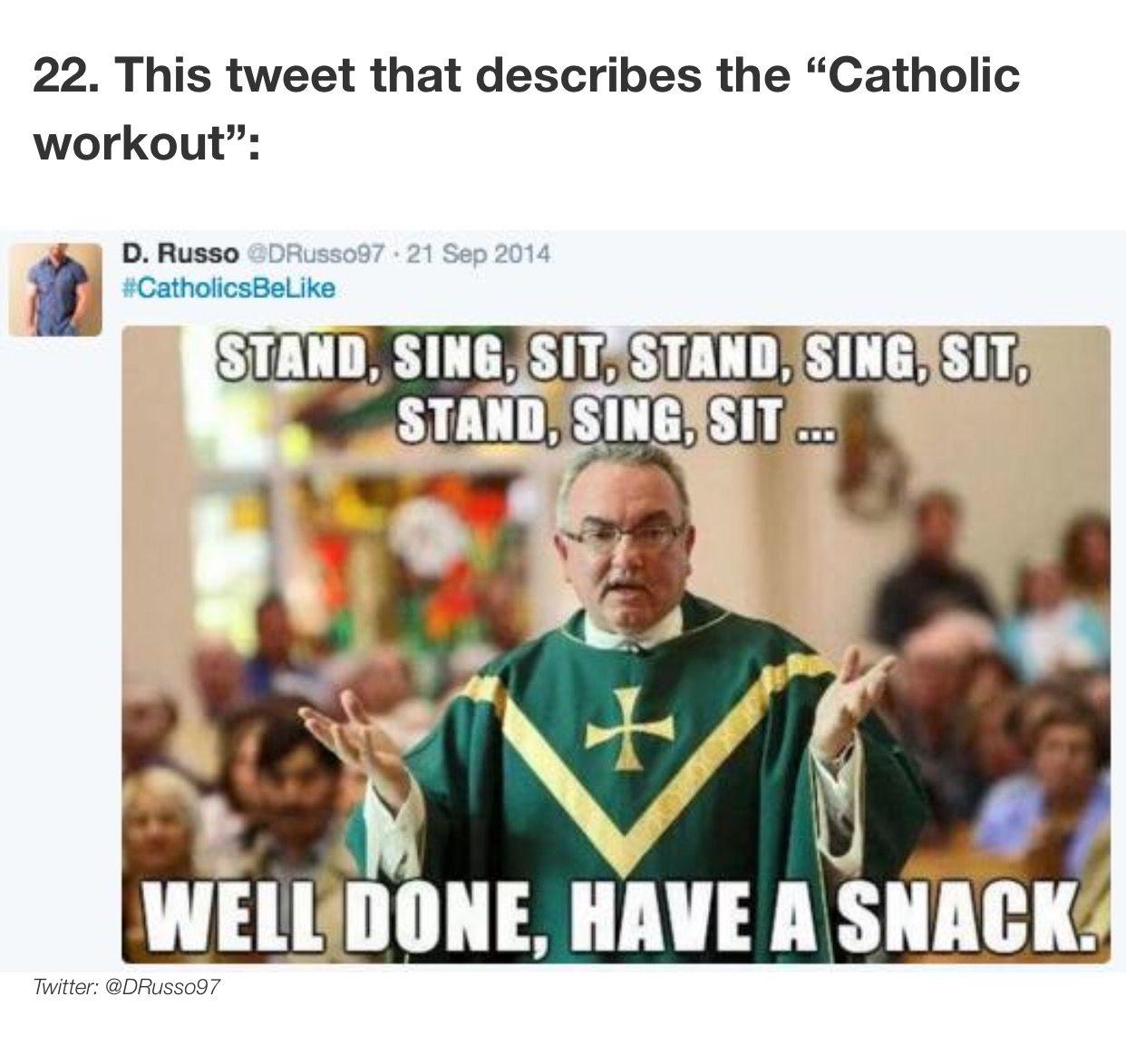 I am Catholic and I can confirm | Super funny, Tumblr