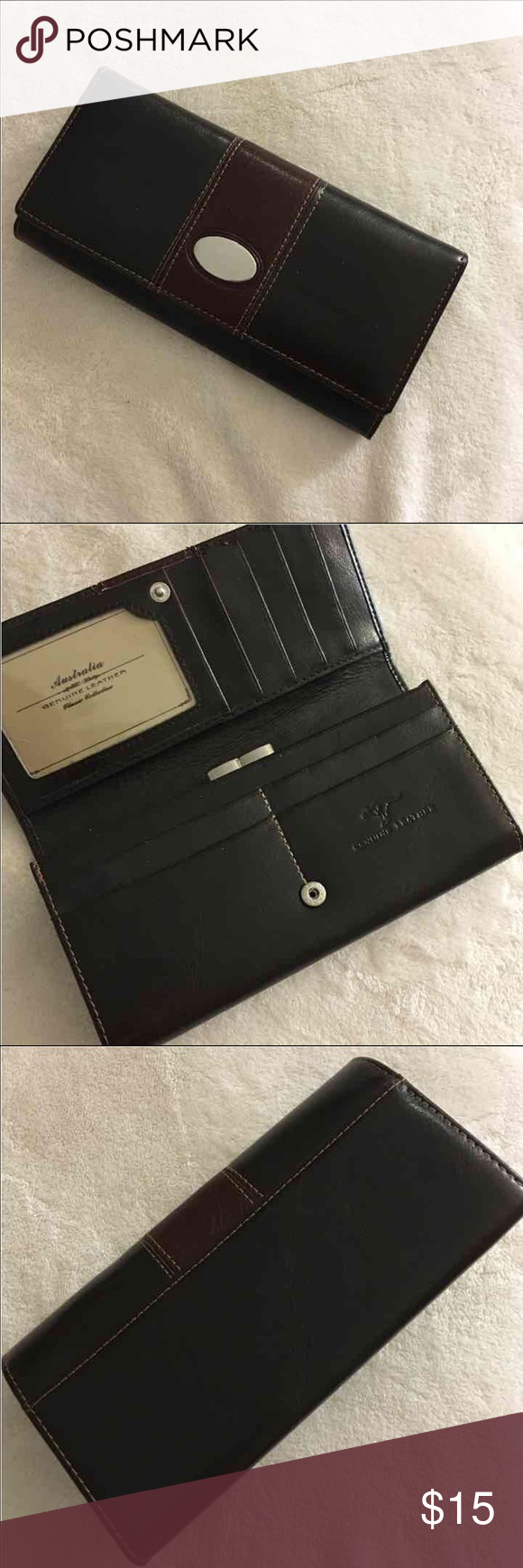 Kangaroo Wallet - Australia Brand new with box / Geniune Leather Bags Wallets