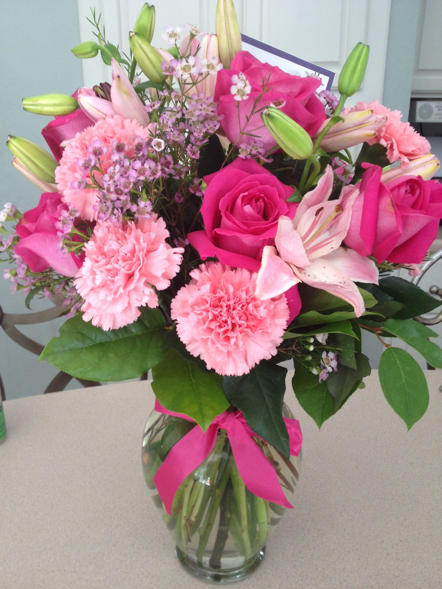 Birthday floral arrangement flower arrangements floral