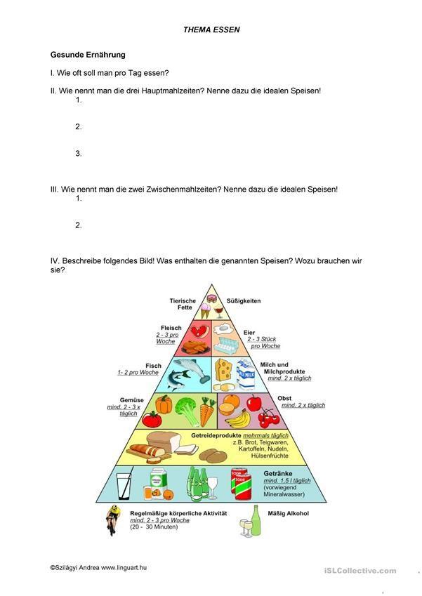 Gesunde Ernährung | Essen und Trinken, Lebensmittel - DAF ...