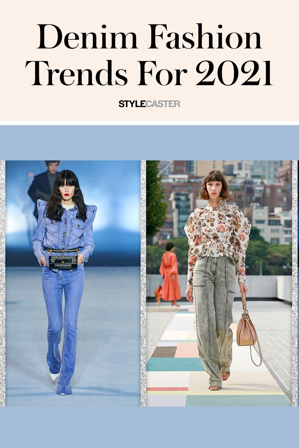 These 8 Denim Trends Take Basic Jeans To A Whole New Level