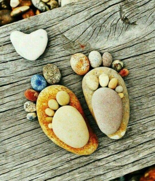Taş Boyama Denenecek Projeler Pinterest Pebble Art Stone Art