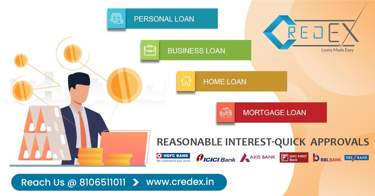 Credex Loans Personal Loans In Hyderabad Bangalore Reasonable Interest Quick Approvals Compare Personal Loans Inte In 2020 Personal Loans Loan Person
