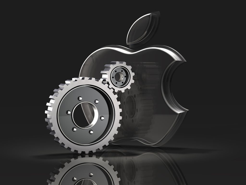 3d apple logo bing