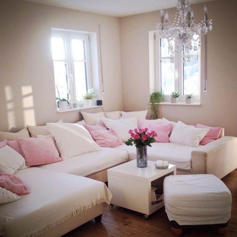Neueste Wohnzimmer Grau Rosa