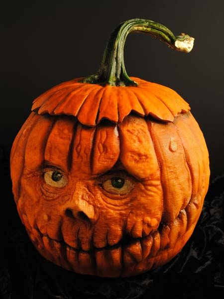 2013 pumpkin carving contest winners talent pinterest - Citrouille effrayante ...