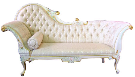 The Fainting Couch Did You Know Chaise Lounge White Chaise Lounge Chaise