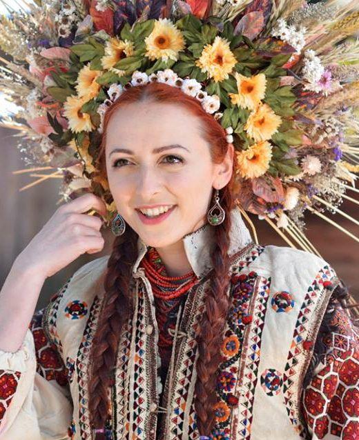 Norwegian Wedding Traditions: Ukrainian Embroidery. Ukrainian Folk. Ukrainian Beauty