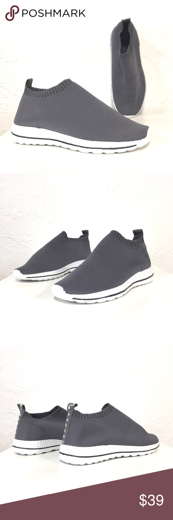 Gray Lifestyle Sneakers Ultra comfortable and stylish
