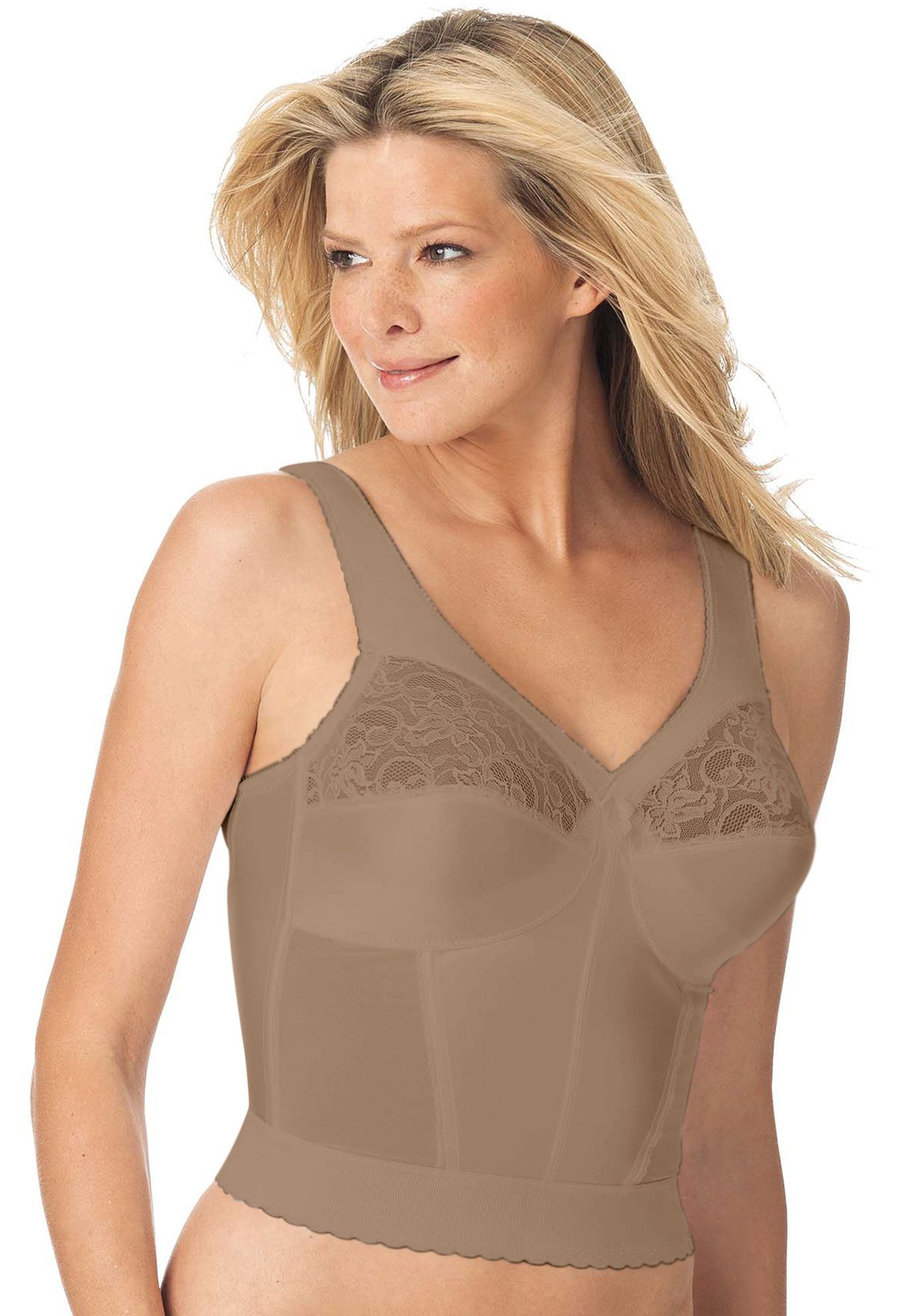9ba7a145c Wirefree longline bra from Magic Lift® by Glamorise®