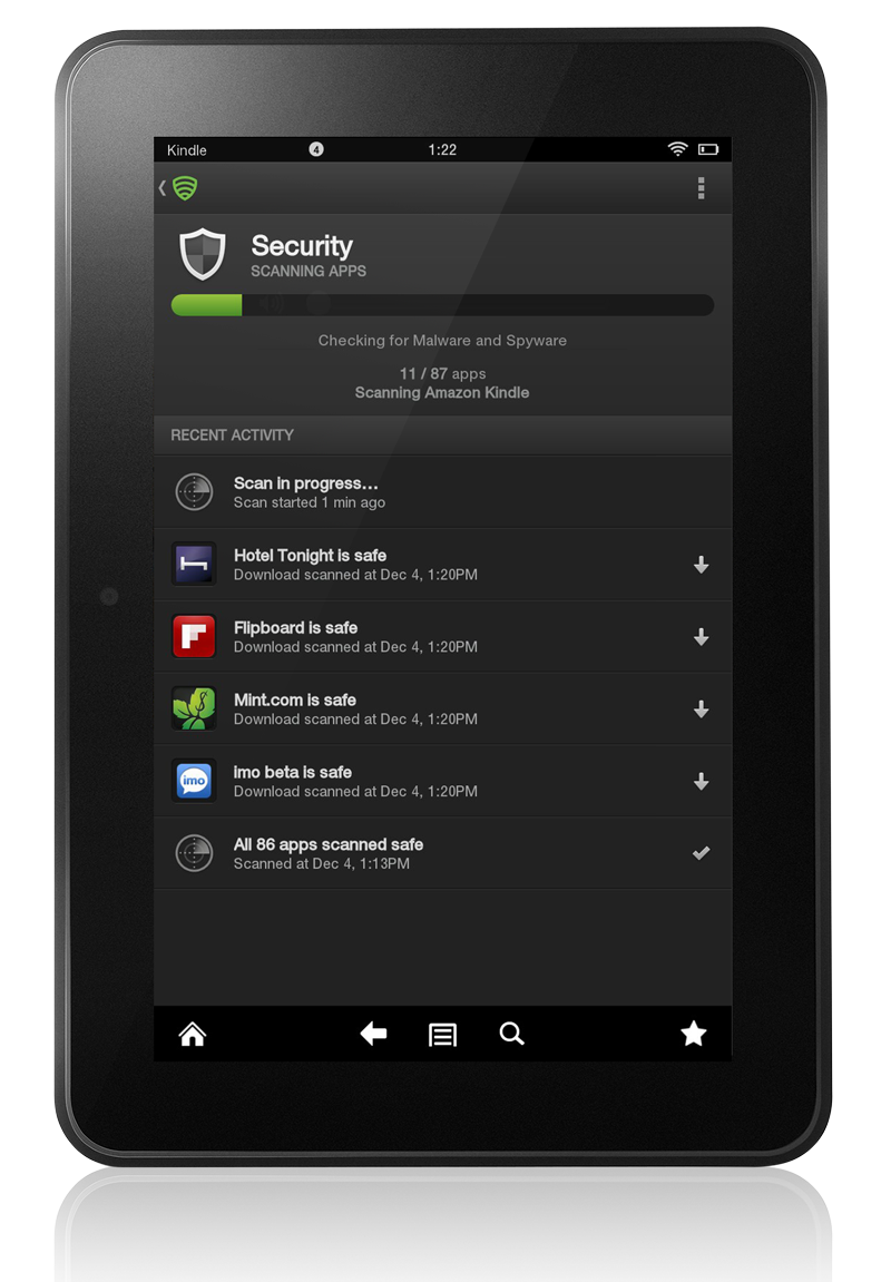 Lookout Mobile Security is available on Kindle!