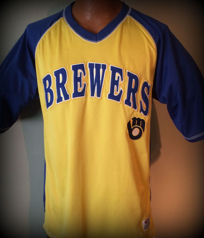 classic fit ada48 eca80 MILWAUKEE BREWERS DYNASTY TRUE FAN EMBROIDERED THROWBACK ...