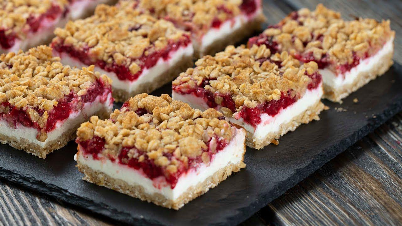 Raspberry Yogurt Bars Youtube In 2020 Raspberry Yogurt Desserts Yogurt Bar