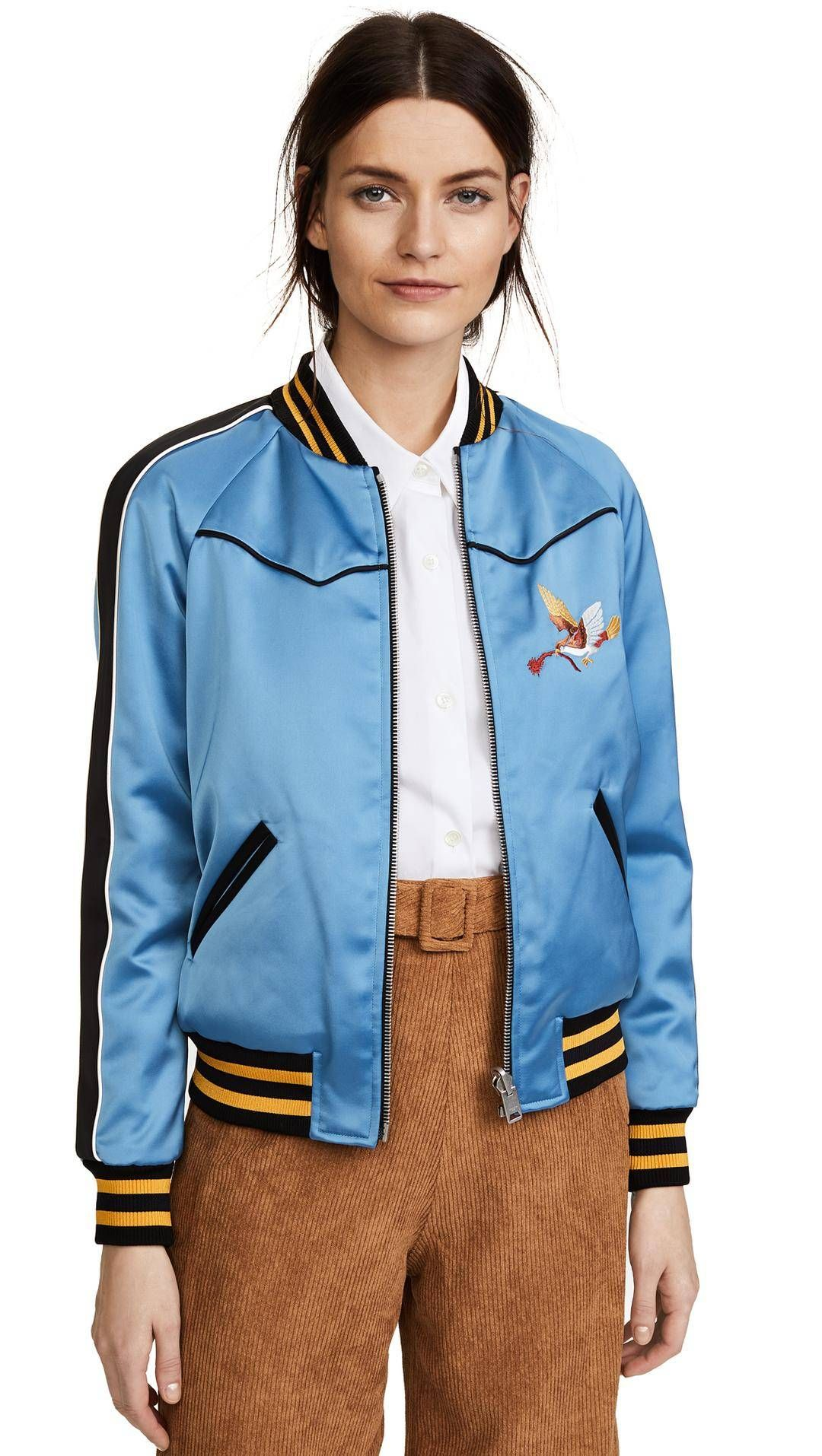 How It Girls Wear Bomber Jackets (and How You Should Too